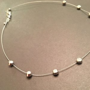 crystal necklace, choker